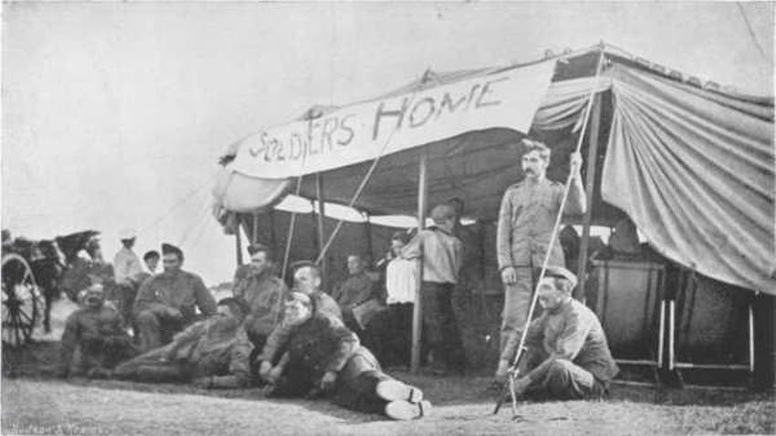 British Field Hospital During the Boer War