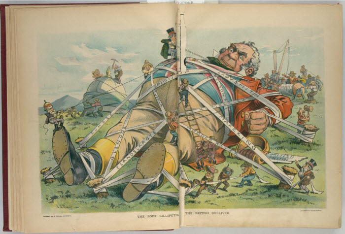 political cartoons of the boer war